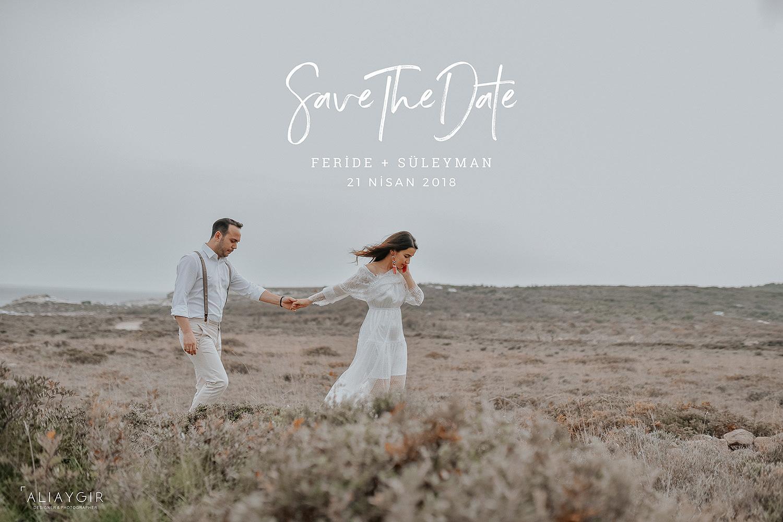 izmir düğün fotoğrafçısı, delikli koy halk plajı, düğün hikayesi, save the date